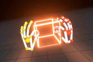 le leap motion permet de voir ses mains en realite virtuelle