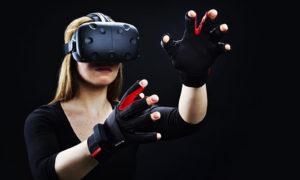 utilisez vos doigts en réalité virtuelle