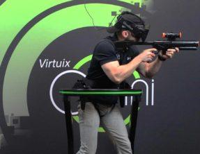 Virtuix Omni – Le déplacement libre en réalité virtuelle